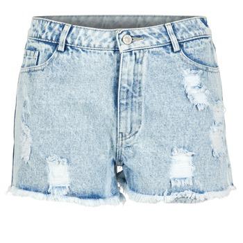 Vêtements Femme Shorts / Bermudas Yurban EVANUXE Bleu clair