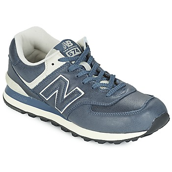 Chaussures Baskets basses New Balance ML574 Bleu