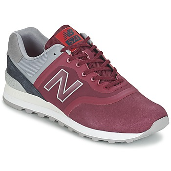 Chaussures Baskets basses New Balance MTL574 Rouge / Gris