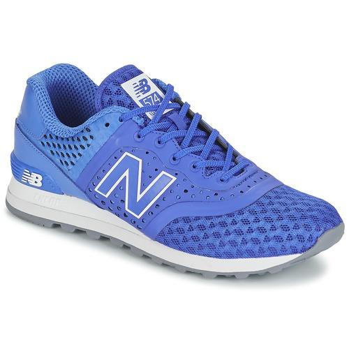 Chaussures Homme Baskets basses New Balance MTL574 Bleu