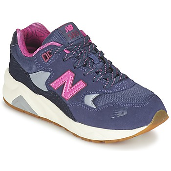 Chaussures Fille Baskets basses New Balance KL580 Violet / Rose