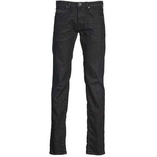 Vêtements Homme Jeans droit Gas MITCH Bleu foncé