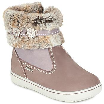 Chaussures Fille Boots Primigi MARINA-E Beige rosé