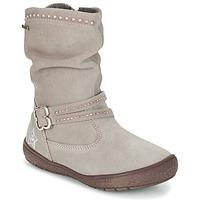 Chaussures Fille Bottes ville Primigi (enfant) CALISHA-E Taupe