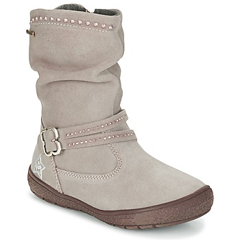 Chaussures Fille Bottes ville Primigi CALISHA-E Taupe