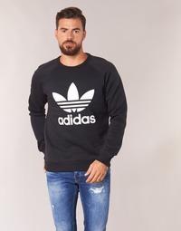 Vêtements Homme Sweats adidas Originals TREFOIL CREW Noir