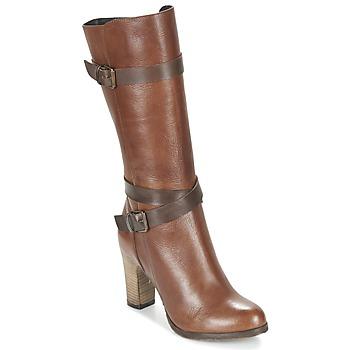Chaussures Femme Bottes ville Lola Espeleta REINETTE Cognac