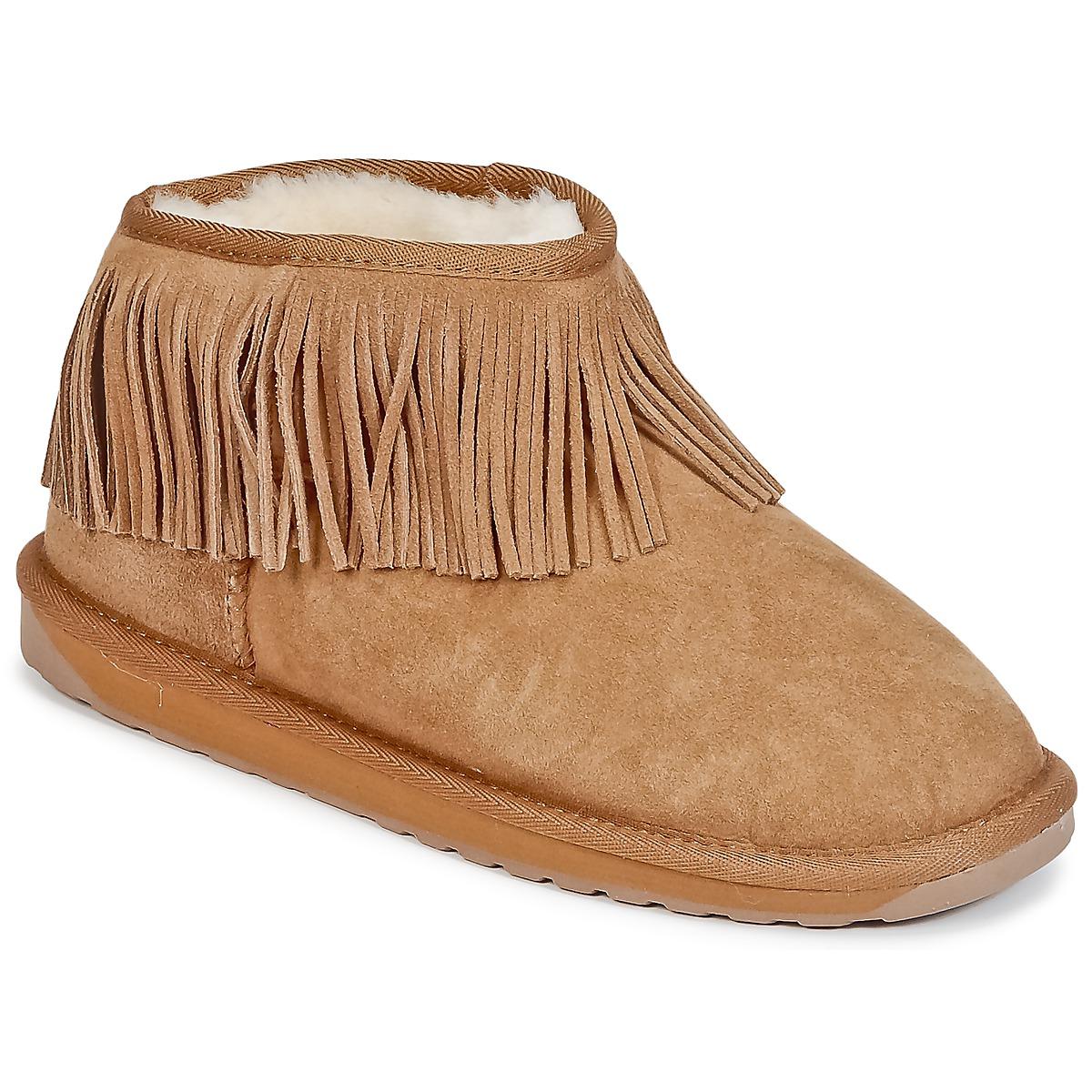 EMU WATERFALL Chatain - Livraison Gratuite avec  - Chaussures Boot Femme