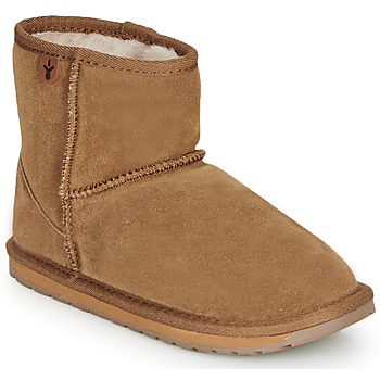Chaussures Enfant Boots EMU WALLABY MINI Chatain