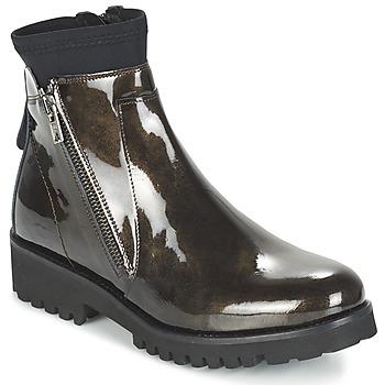 Chaussures Femme Boots Regard REJABI Bronze verni