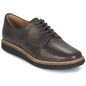 Chaussures Femme Derbies Clarks GLICK DARBY Marron