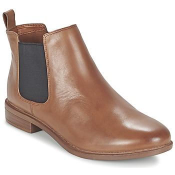 Chaussures Femme Boots Clarks TAYLOR SHINE Marron