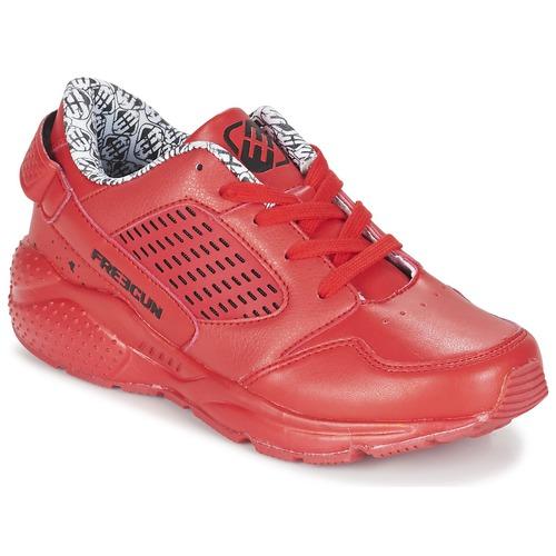 Chaussures Garçon Baskets basses Freegun FADSA Rouge
