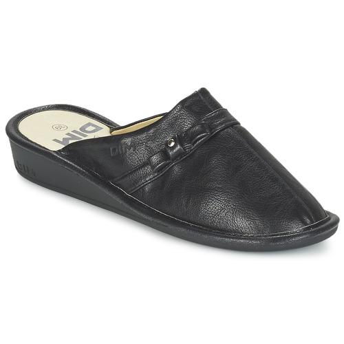 Chaussures Femme Chaussons DIM CLUBA Noir