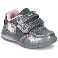 Chaussures Fille Baskets basses Hello Kitty FANELY LIGHT Gris