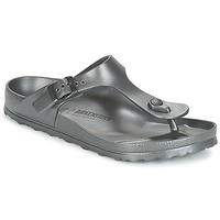 Chaussures Femme Tongs Birkenstock GIZEH EVA Anthracite Metallique