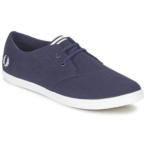 Chaussures Homme Baskets basses Fred Perry BYRON LOW TWILL Marine