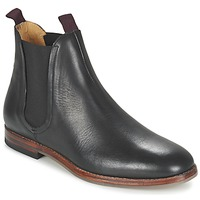 Chaussures Homme Boots Hudson TAMPER CALF Noir