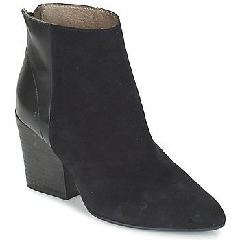 Chaussures Femme Bottines Hudson MELI CALF Noir