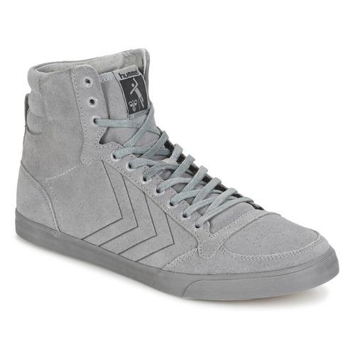 Chaussures Baskets montantes Hummel TEN STAR TONAL HIGH Gris