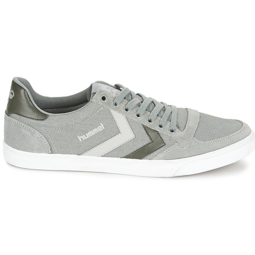 Hummel TEN STAR DUO CANVAS LOW Gris 6Za3kPHRj