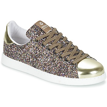 Chaussures Femme Baskets basses Victoria DEPORTIVO BASKET GLITTER Multicolore