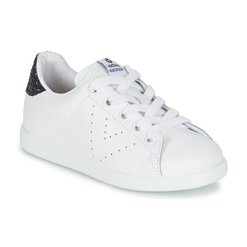 Chaussures Fille Baskets basses Victoria DEPORTIVO BASKET PIEL KID Blanc