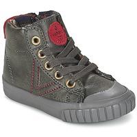 Chaussures Enfant Baskets montantes Victoria BOTA NAPA PU Gris