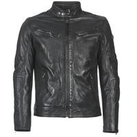 Vêtements Homme Vestes en cuir / synthétiques Redskins LYNCH CASTING ÉLÉPHANT Noir