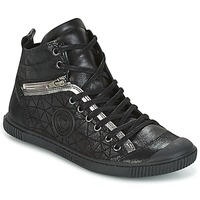 Chaussures Femme Baskets montantes Pataugas BANJOU Noir