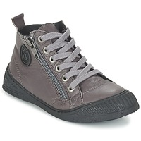 Chaussures Garçon Baskets montantes Pataugas ROCKET/N Gris
