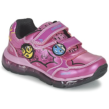 Chaussures Air max tnFille Baskets basses Geox ANDROID GIRL Rose