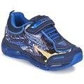 Chaussures Garçon Baskets basses Geox ANDROID BOY Bleu