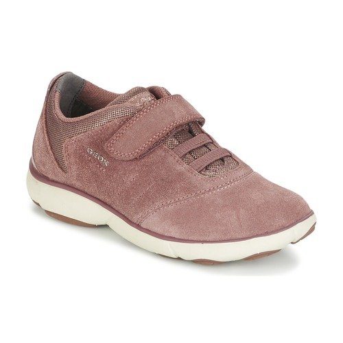 Chaussures Fille Baskets basses Geox NEBULA GIRL Rose