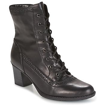 Chaussures Femme Bottines Rieker SEBILLE Noir