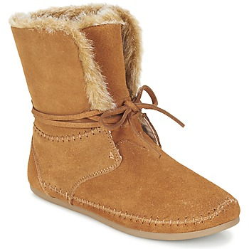 Chaussures Femme Boots Toms ZAHARA Marron