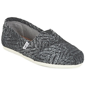 Chaussures Air max tnFemme Slips on Toms SEASONAL CLASSIC Gris