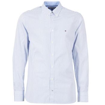Vêtements Homme Chemises manches longues Tommy Hilfiger DUNFORD STP NFC2 Bleu