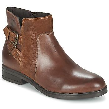 Chaussures Femme Boots Casual Attitude FERDAWA Camel