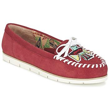 Chaussures Femme Mocassins Miss L'Fire YHUNDERBIRD Rouge