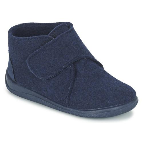 Chaussures Garçon Chaussons Citrouille et Compagnie FELINDRA Bleu