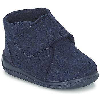 Chaussures Enfant Chaussons Citrouille et Compagnie FELINDRA Bleu