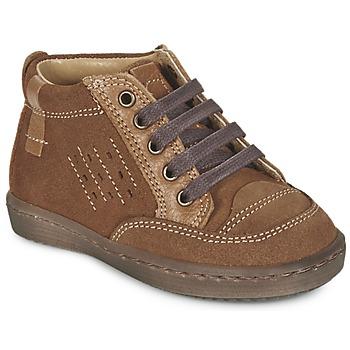 Chaussures Garçon Boots Citrouille et Compagnie FIMOULA Marron