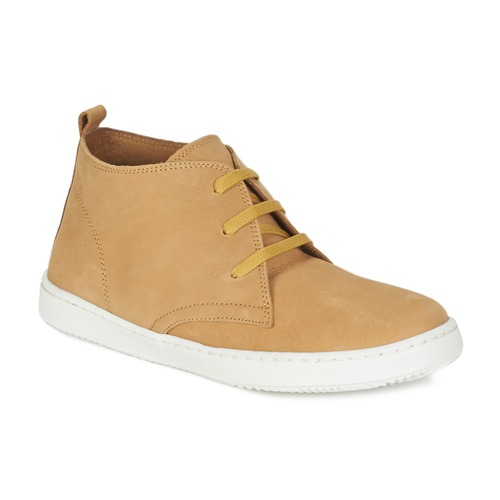 Chaussures Garçon Boots Citrouille et Compagnie FANTASIO Jaune