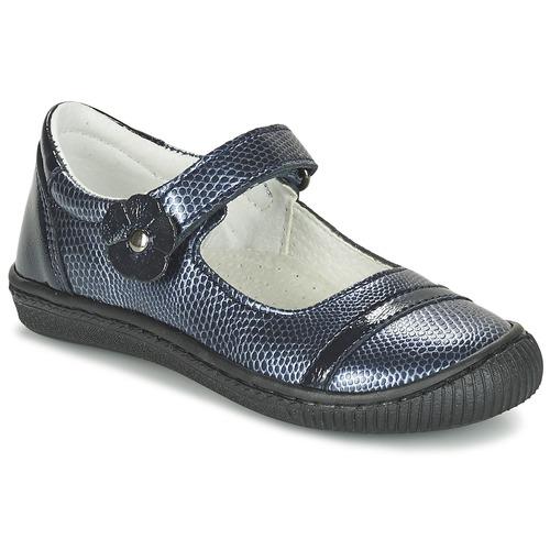 Chaussures Fille Ballerines / babies Citrouille et Compagnie FAGIMO Marine