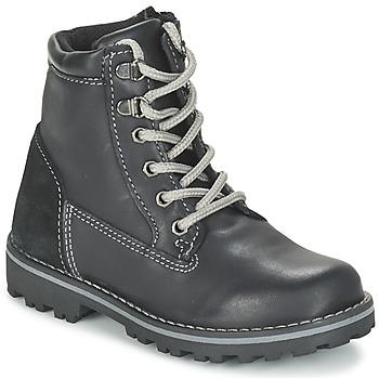 Chaussures Garçon Boots Citrouille et Compagnie FACOSA Noir