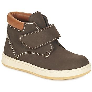 Chaussures Garçon Boots Citrouille et Compagnie FREMOULI Marron
