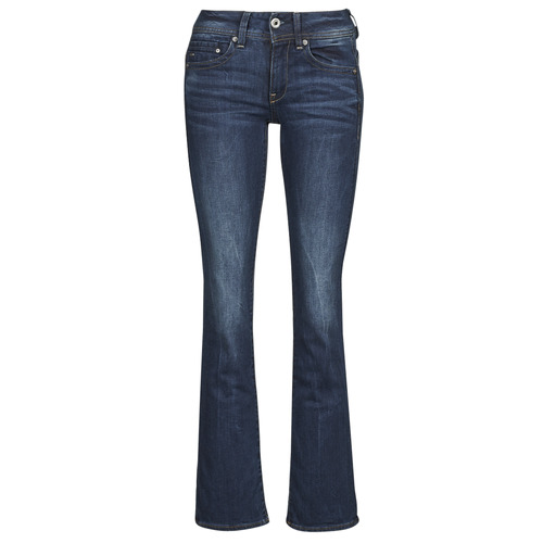 Vêtements Femme Jeans bootcut G-Star Raw MIDGE SADDLE MID BOOTLEG Bleu