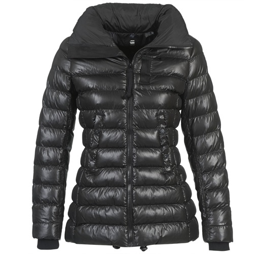 Vêtements Femme Doudounes G-Star Raw WHISTLER SLIM COAT Noir