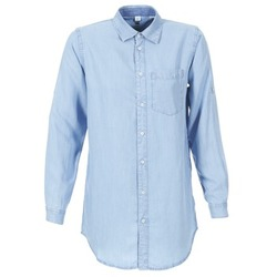 Vêtements Femme Chemises / Chemisiers G-Star Raw CORE BF 1PKT Bleu